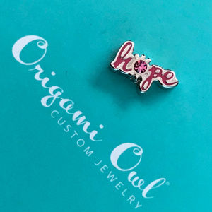 5 for $19 Origami Owl Hope Retired Charm 2F